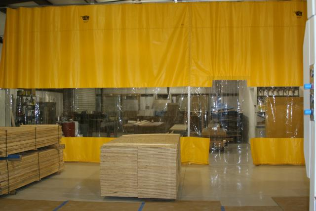 Industrial Curtains Goff S Curtain Walls