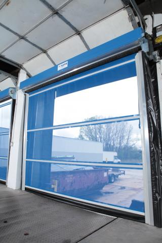 G2 Lite Mesh Dock Doors Goff S Curtain Walls
