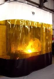 Weld curtains