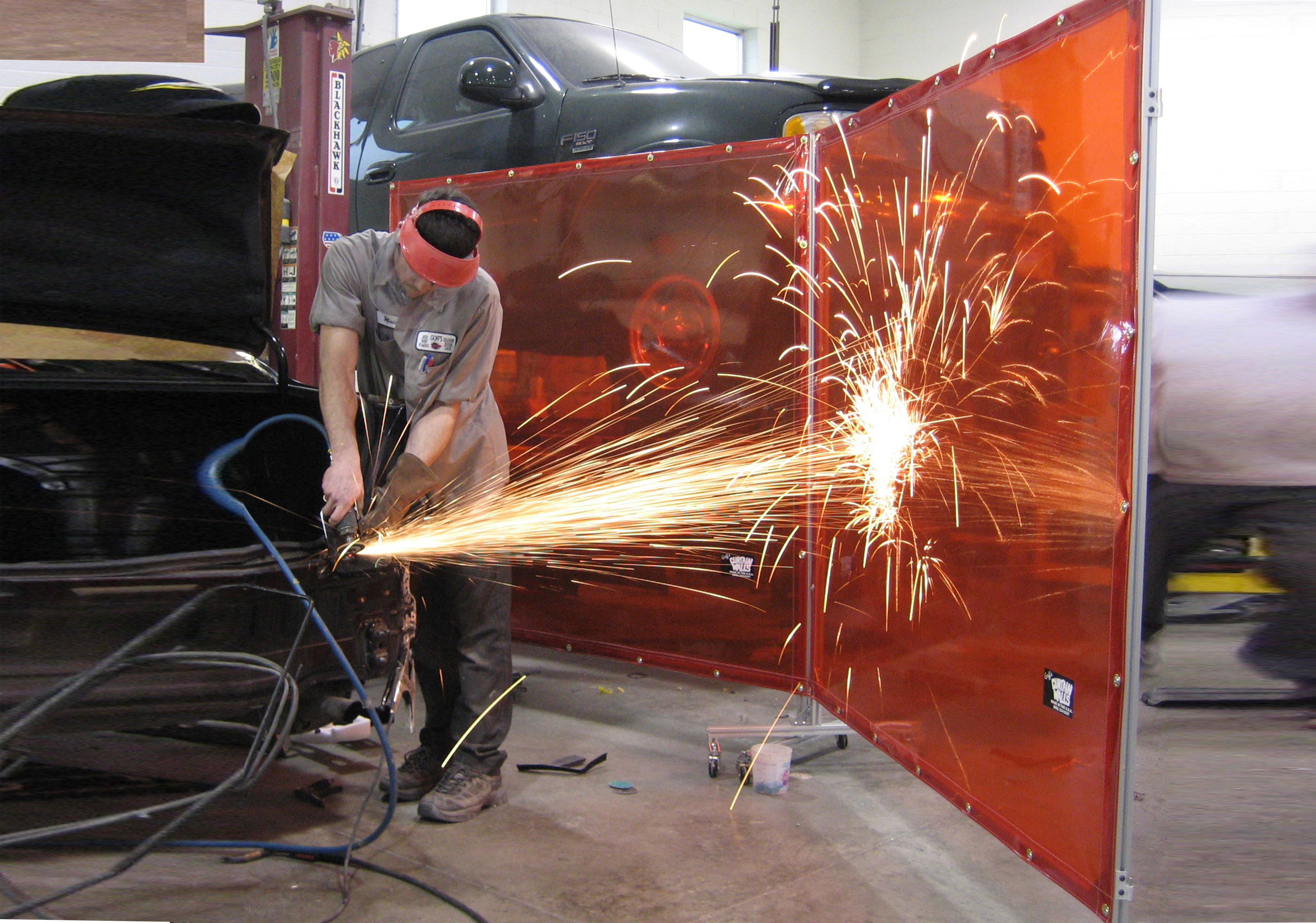 Welding Curtains & Screens